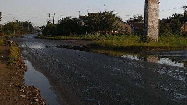 В ЛОДА забракло грошей на якісний ремонт дороги в Пустомитах