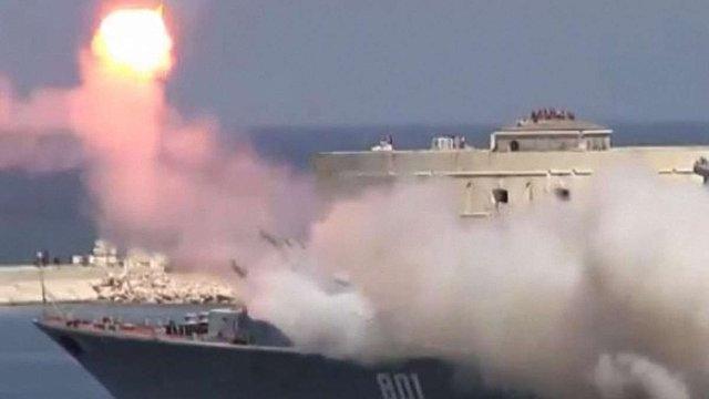Військово-морський парад в окупованому Севастополі відзначився невдалим запуском ракети