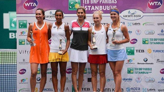 Еліна Світоліна вдруге виграла парний титул на турнірі у Стамбулі