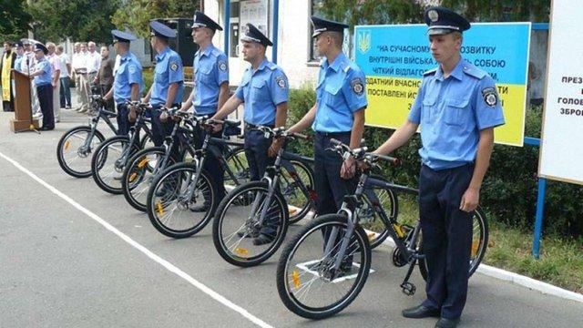 У Трускавці хочуть створити поліцейські велопатрулі