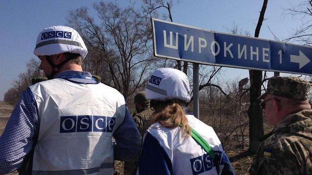 Керівник патруля ОБСЄ отримав струс мозку від вибуху в Широкиному