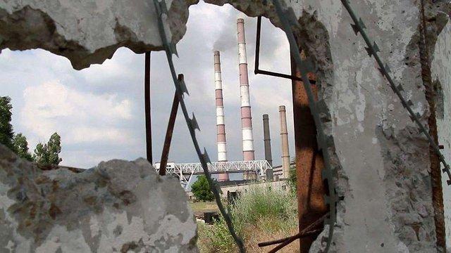 Бойовики перебили електропостачання на Луганщині
