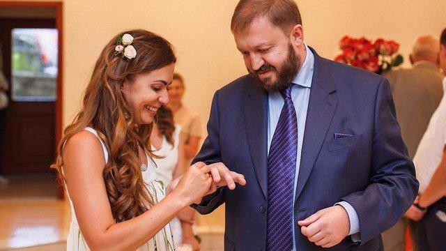 Колишній голова ЛОДА Василь Горбаль втретє одружився