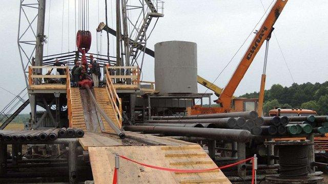 На Львівщині запустили розвідувальну свердловину природного газу