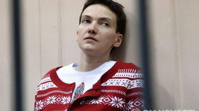 Надії Савченко дозволили зустрітися з родичами