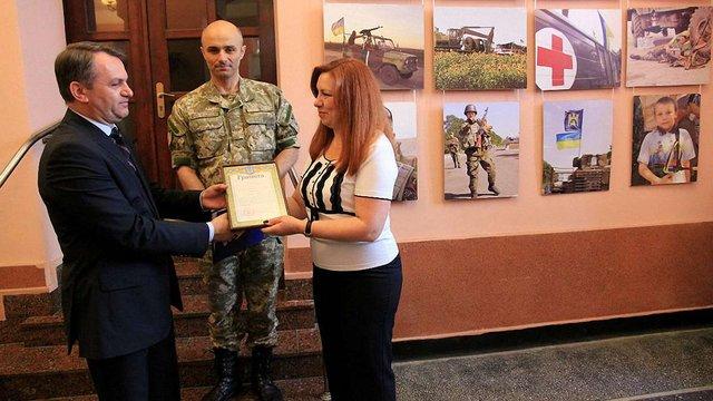 Волонтерів Львівщини нагородили грамотами керівника АТО