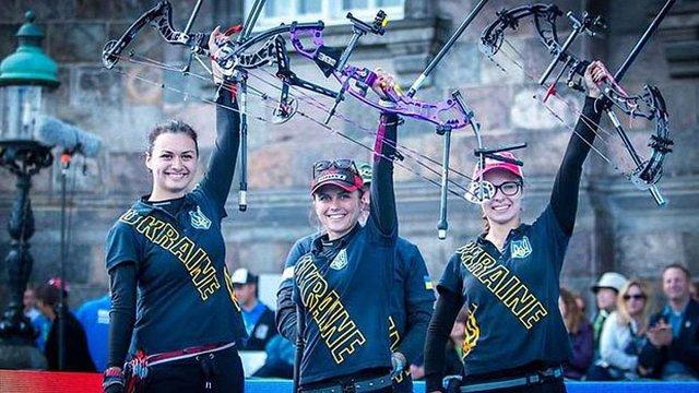 Українські лучниці здобули «золото» на Чемпіонаті світу