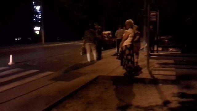 У Львові водій Daewoo Lanos збив на переході літнього чоловіка