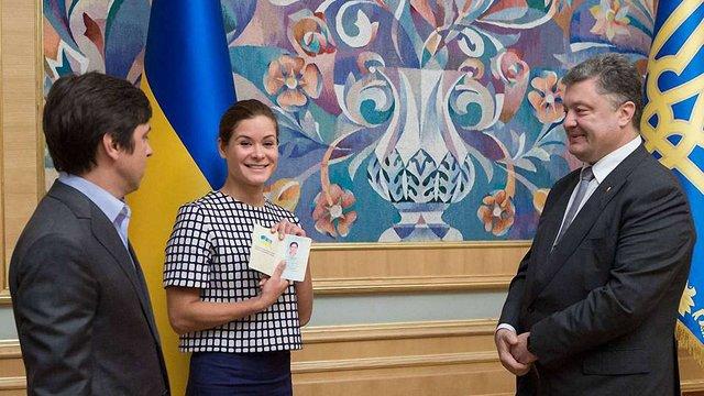 Марія Гайдар отримала українське громадянство