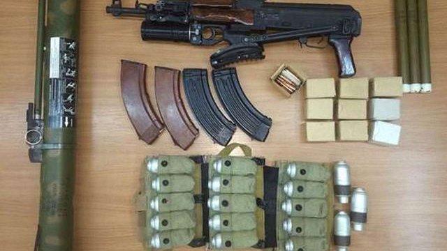 СБУ вилучила зброю членів терористичної групи «Харківські партизани»