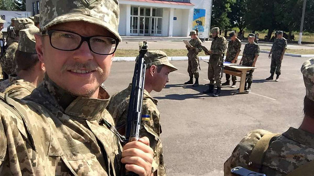 Майкл Щур прийняв військову присягу