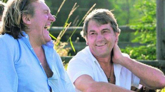 Ющенко розповів, що колись Депардьє говорив про Путіна