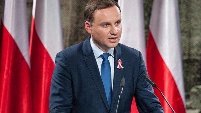 Анджей Дуда виступає за залучення Польщі до переговорів щодо Донбасу