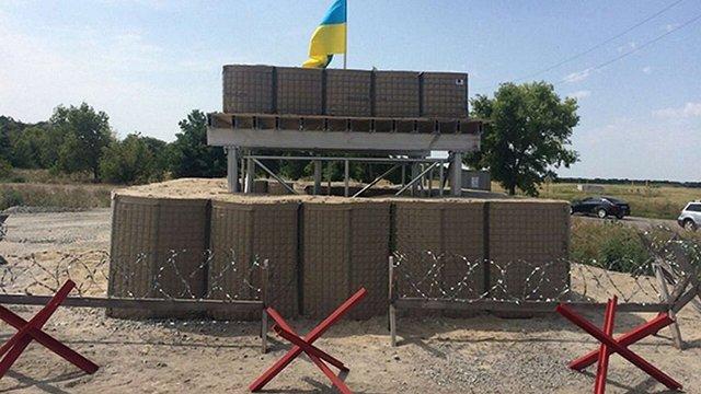 Два блокпости на Дніпропетровщині обладнали за стандартами НАТО
