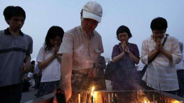 Японія вшанувала жертв атомного бомбардування Хіросіми хвилиною мовчання
