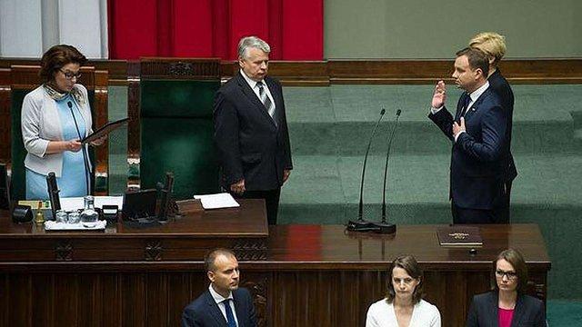Анджей Дуда склав присягу на посту президента Польщі
