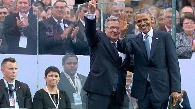 Обама подякував Коморовському за підтримку України