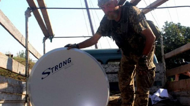 У зоні АТО встановлять 500 супутникових антен з українським мовленням