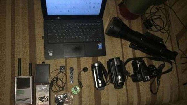 В Одесі СБУ затримала 2 осіб, які незаконно збирали інформацію за допомогою спецзасобів