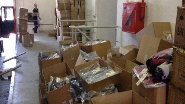 На Волині прикордонники виявили вантажівку з контрабандою майже на ₴14 млн