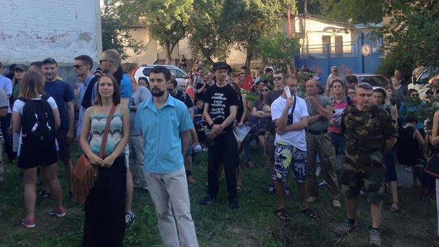 У Києві організували концерт на підтримку звинувачених у вбивстві Бузини