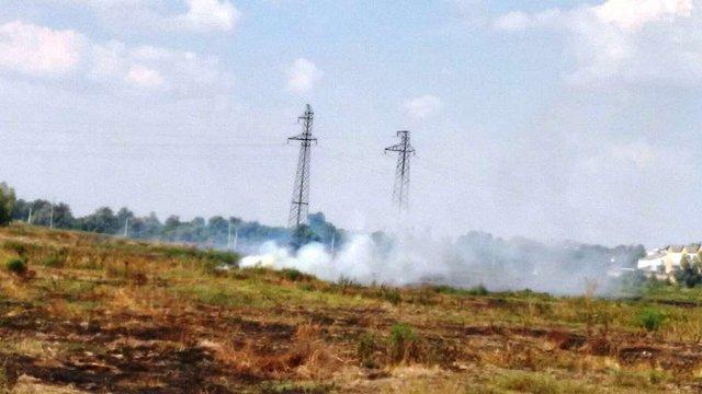 Під Чорнобилем загорілася суха трава, але пожежу локалізували, - ДСНС