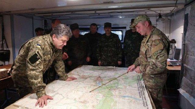 Порошенко скликав нараду силовиків через загострення ситуації на Донбасі