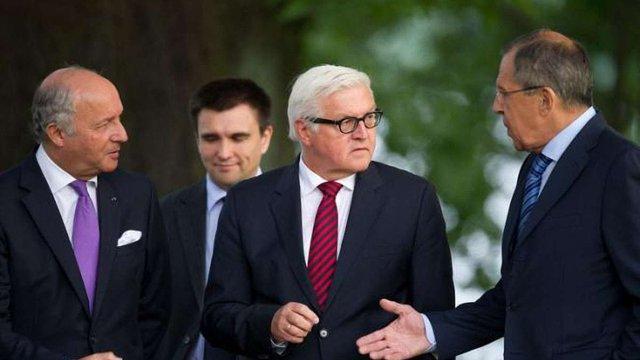 Голови МЗС Франції та Німеччини ініціюватимуть консультації з Росією