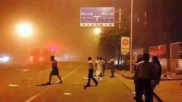 ЗМІ повідомляють про 7 загиблих і сотні постраждалих внаслідок вибуху у Китаї
