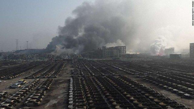 Кількість жертв вибуху у Китаї перевищила 40 осіб