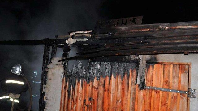 На Хортиці сталася пожежа в комплексі «Запорізька Січ»