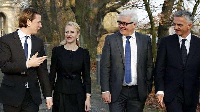 Німеччина, Австрія, Швейцарія і Ліхтенштейн ухвалили декларацію про підтримку України