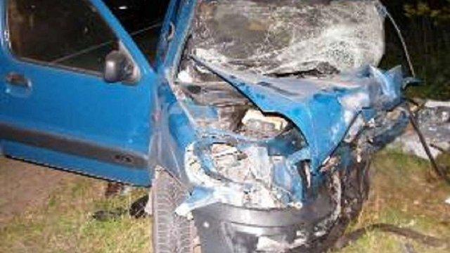 В автокатастрофі на трасі Львів-Яворів загинули троє людей