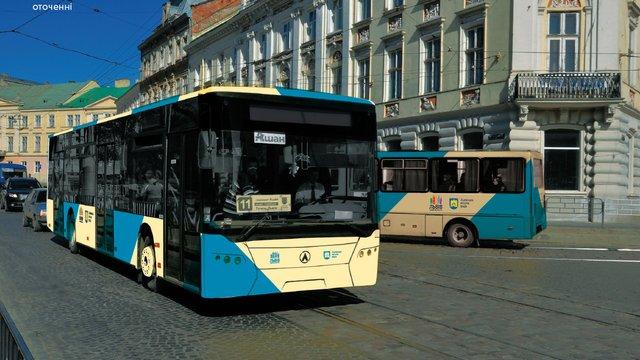 У Львові обрали фіналістів конкурсу на оформлення громадського транспорту