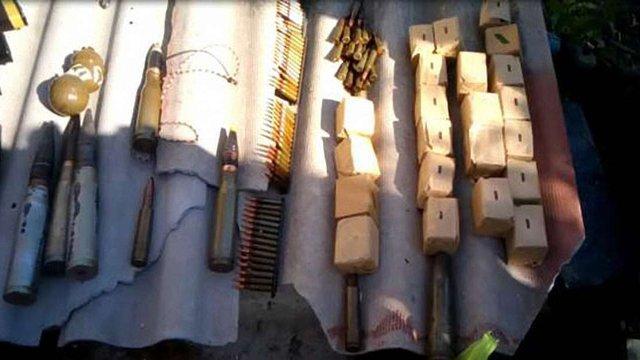 На Луганщині СБУ затримала озброєного інформатора бойовиків ЛНР
