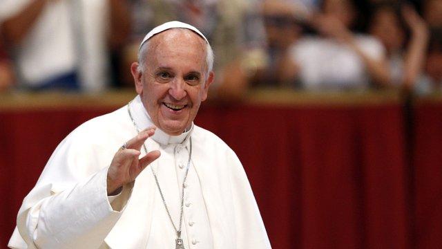 Папа Римський підтримує Україну в прагненні до миру