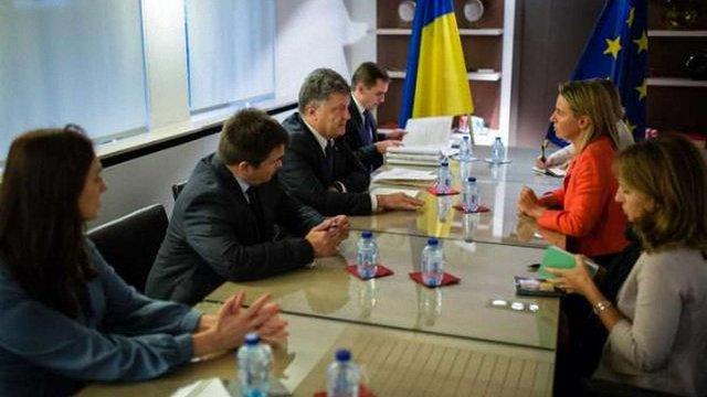 Могеріні прийняла запрошення найближчим часом відвідати Україну
