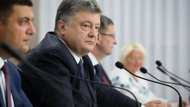 Порошенко запевнив, що Україна не відмовиться від Донбасу