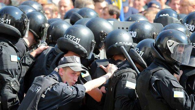 Правоохоронці відпустили 13 затриманих після сутичок під Верховною Радою (оновлено)