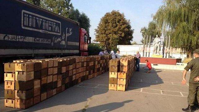 На Дніпропетровщині затримали 100 мільйонів капсуль-запалювачів до патронів