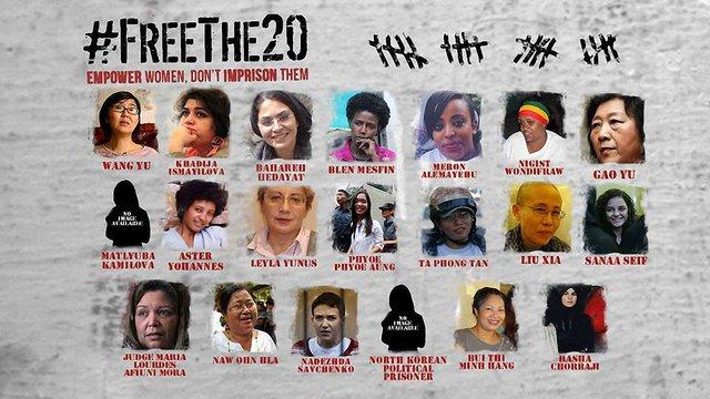 США почали кампанію за звільнення 20 жінок-політв'язнів, зокрема Надії Савченко