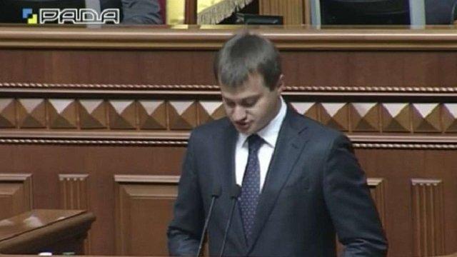 Березенко склав присягу народного депутата під викрики «Ганьба!»