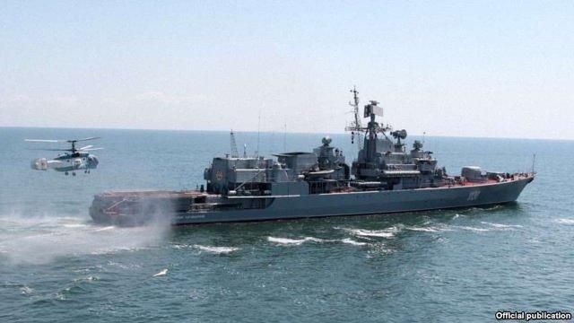 Яценюк доручив модернізувати фрегат «Гетьман Сагайдачний»