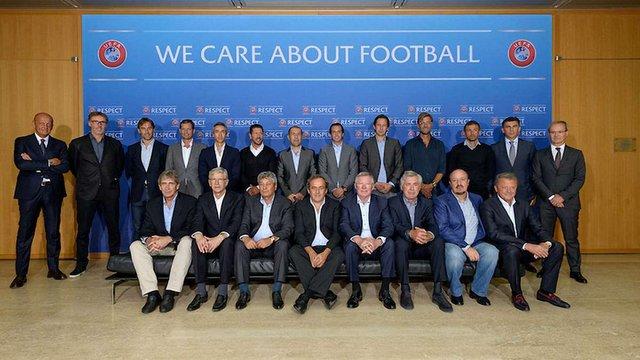 Мірча Луческу і Мирон Маркевич побували на Форумі елітних тренерів УЄФА