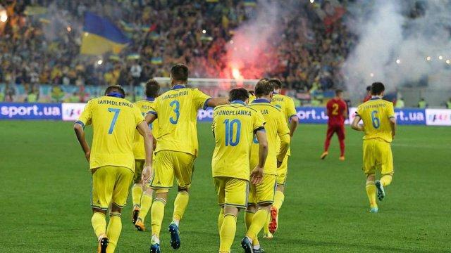 Збірна України піднялася на 29-те місце у рейтингу ФІФА