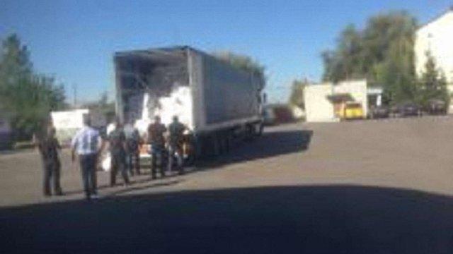 На Львівщині митники затримали вантажівку з контрабандним товаром на мільйони гривень