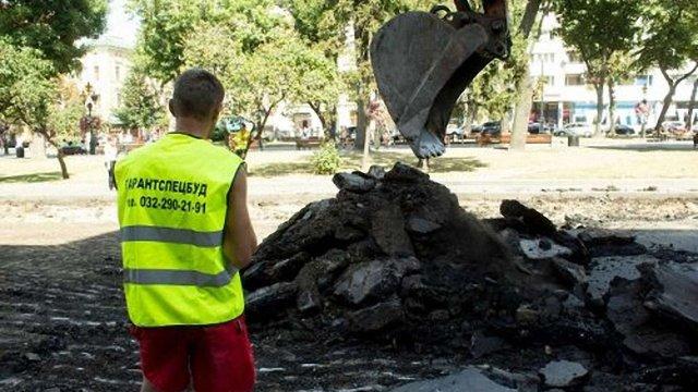 Більшість ремонтів доріг у Львові завершать до кінця вересня