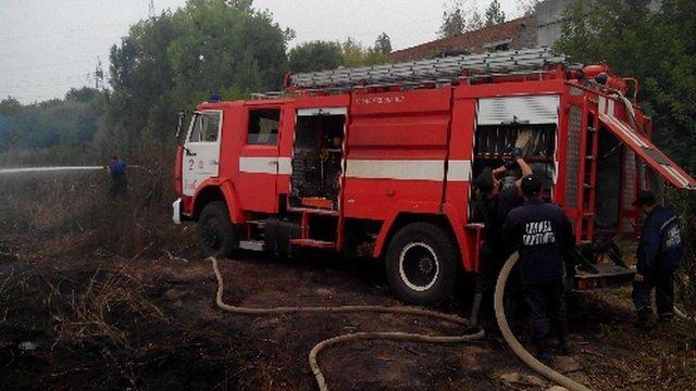 Пожежу на очисних спорудах у Рівному ліквідовано