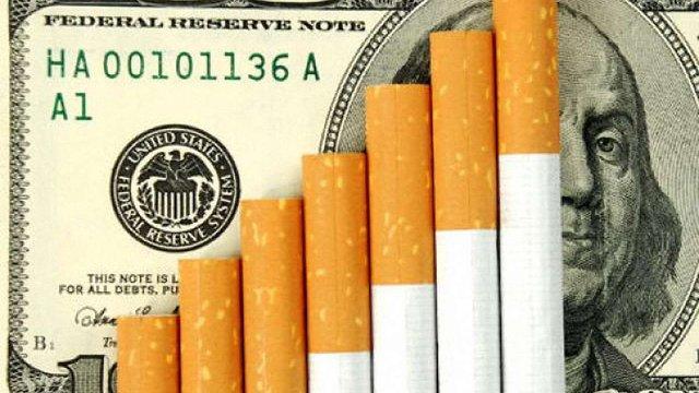 Мінфін пропонує підвищити на 40% акциз на тютюнові вироби в 2016 році