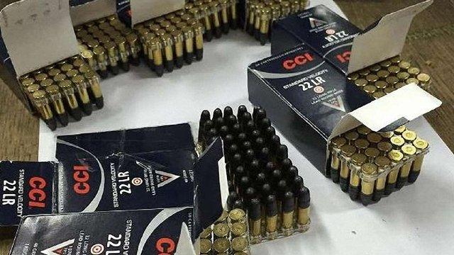 Львівські митники виявили в посилці із США набої до гвинтівки